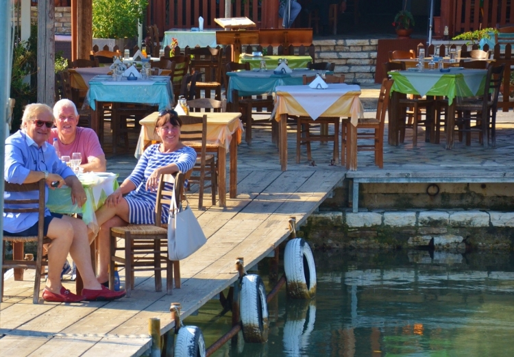 The best waterside dining in the Ionian Islands