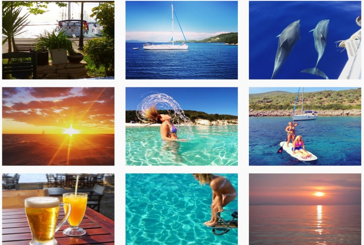 Share your #SailingHoliday snaps on Instagram