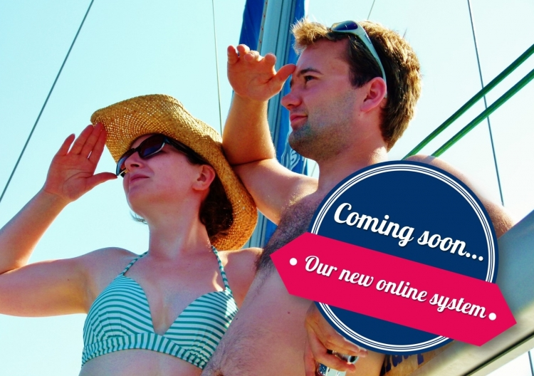 Flotilla: Coming soon...our new online system