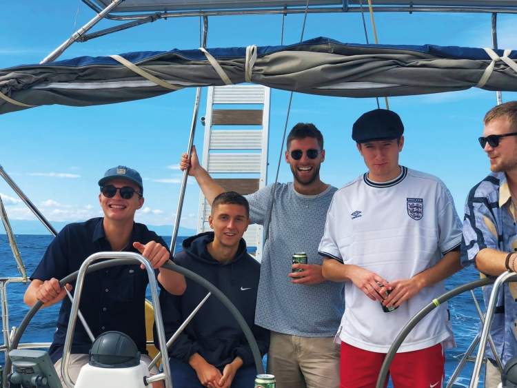Yacht Charter: Fin sets sail in the Sporades!
