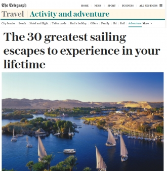 Telegraph - The Best Sailing Holidays in the World