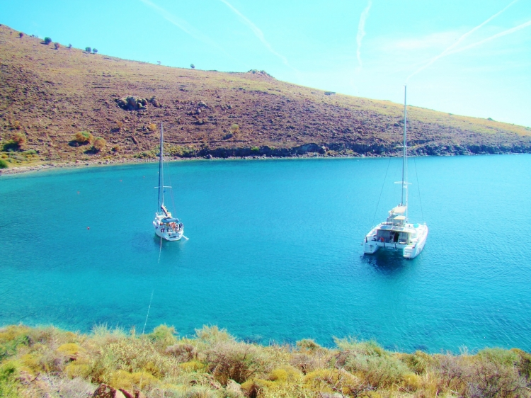 Yacht Charter: Magdalena tries Skippered Charter...is she converted?