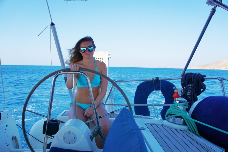 Yacht Charter: Faye's first trip to the Dodecanese!